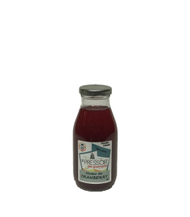 Jus Cranberry Pressoir des Gourmands 25cl