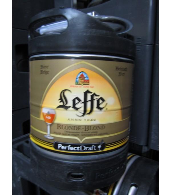 MINI FUT LEFFE BLONDE 6L