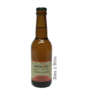 Cidre Rimbaud brut 25cl Ardennais du Pressoir des Gourmands